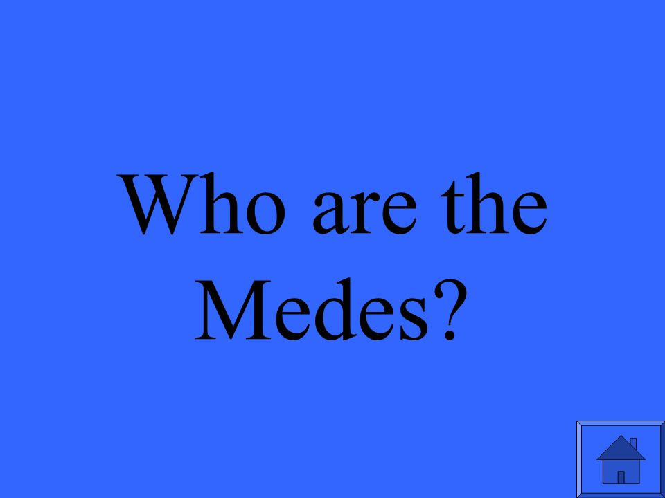 Who are the Medes?
