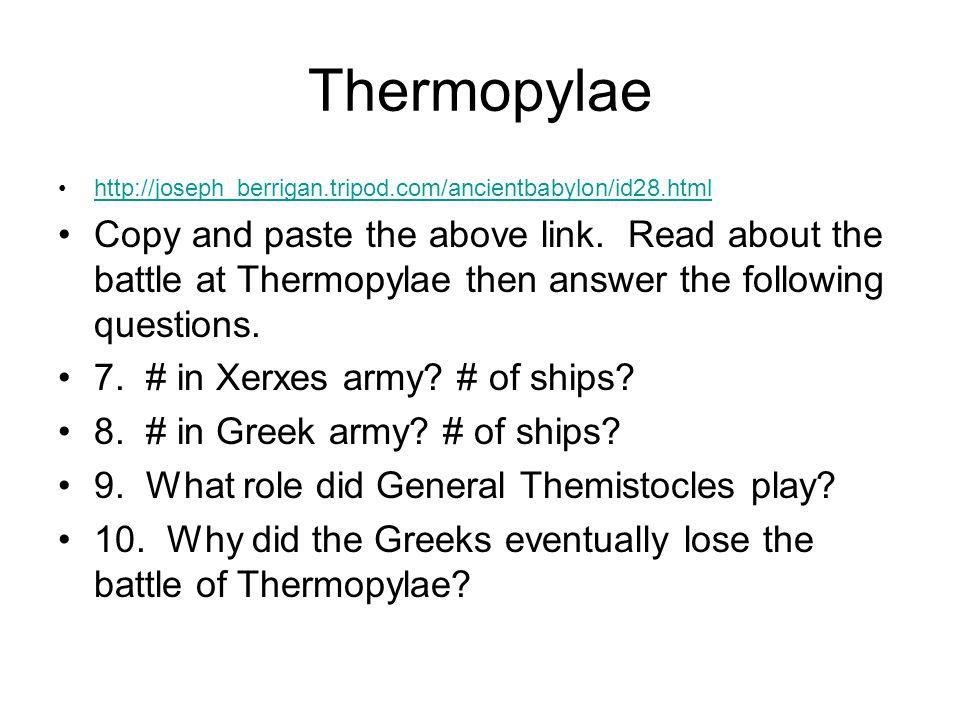 Battle of Salamis http://joseph_berrigan.tripod.com/ancientbabylon/id29.html Copy and paste the above address.