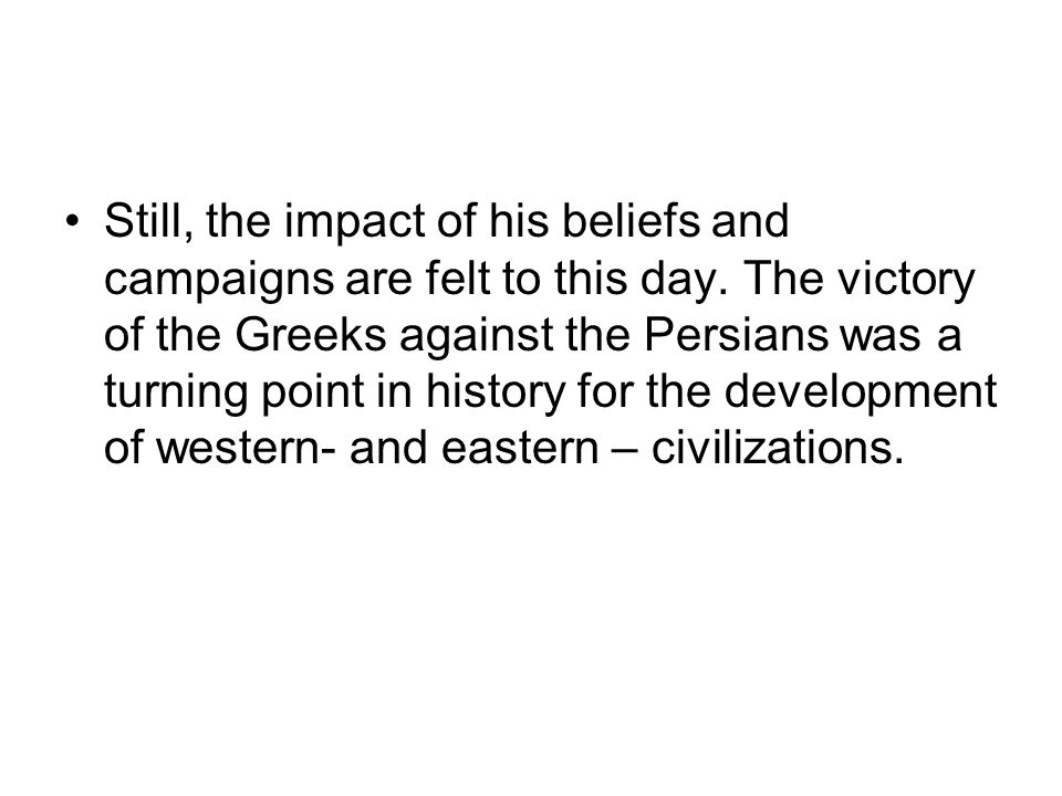 Still, the impact of his beliefs and campaigns are felt to this day.