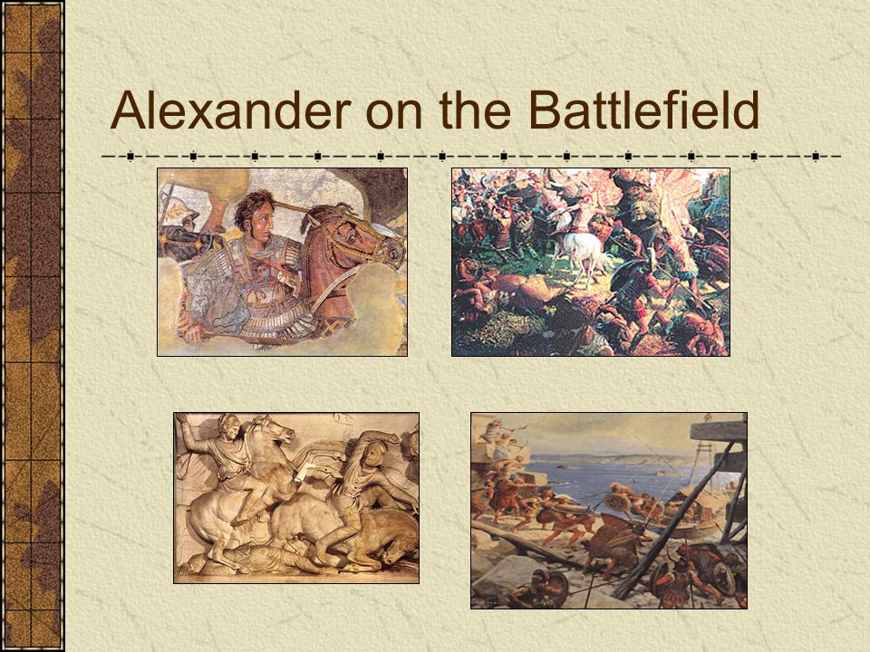 Alexander on the Battlefield