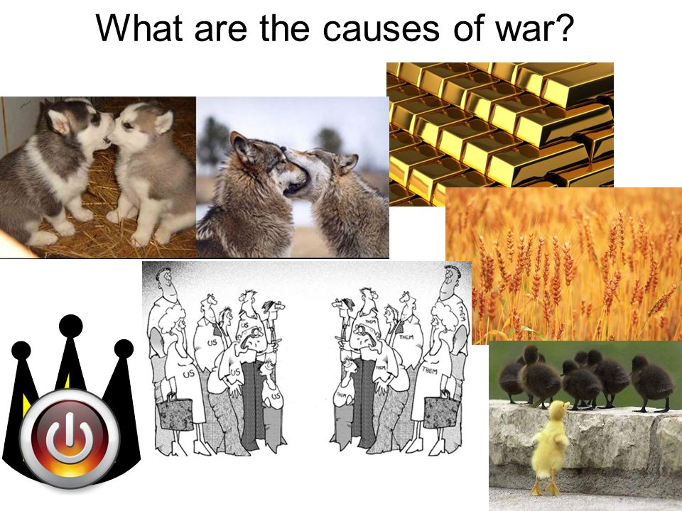 What are the causes of war?