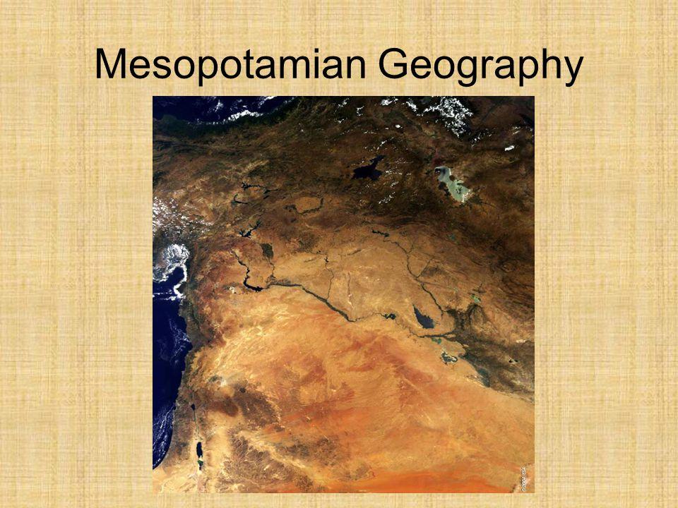 Mesopotamian Geography