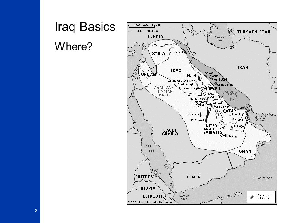 2 Iraq Basics Where?