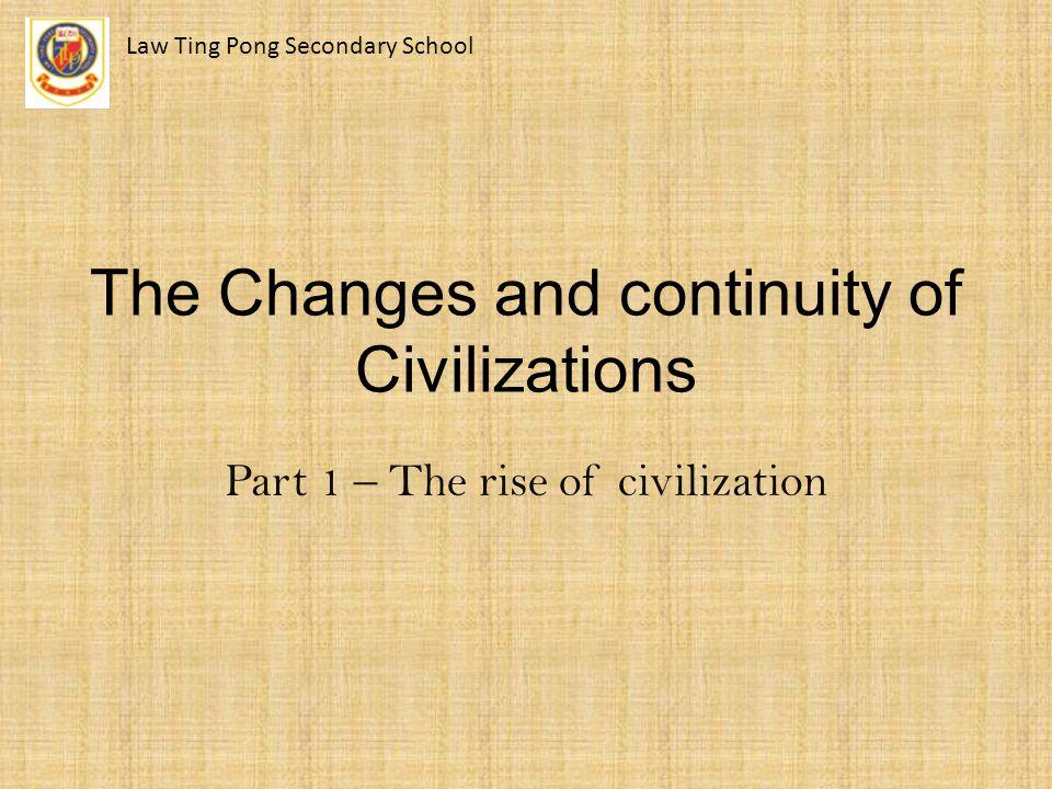 Part 1 – Background of different civilizations