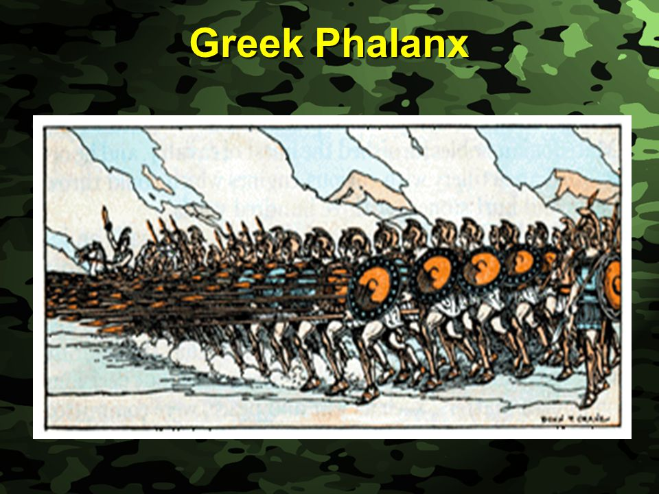 Slide 31 Greek Phalanx