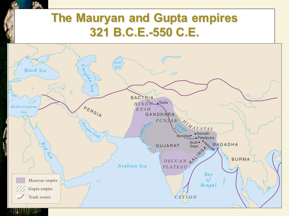 India Before the Mauryan Dynasty 520 BCE Persian Emperor Darius conquers north-west India520 BCE Persian Emperor Darius conquers north-west India Introduces Persian ruling patternIntroduces Persian ruling pattern 327 Alexander of Macedon destroys Persian Empire in India327 Alexander of Macedon destroys Persian Empire in India Troops mutiny, departs after 2 yearsTroops mutiny, departs after 2 years –Political power vacuum