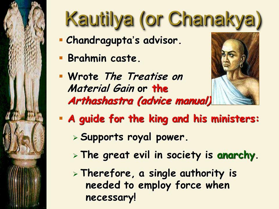 Chandragupta's Government Like Persia & China, built a bureaucratic administrative system.Like Persia & China, built a bureaucratic administrative system.