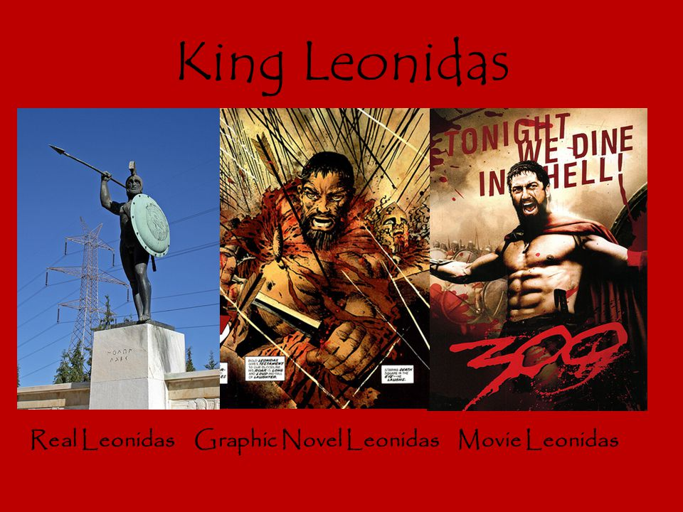 King Leonidas Real Leonidas Graphic Novel Leonidas Movie Leonidas