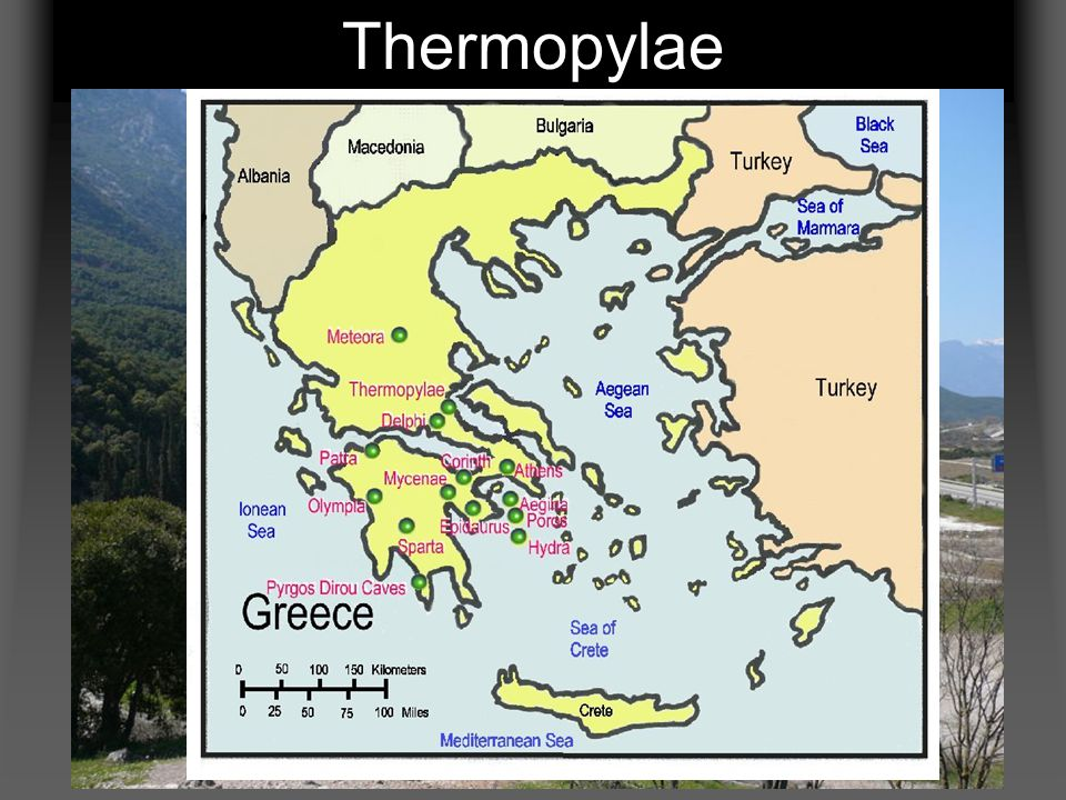 The Battle at Thermopylae August of 480 BC The Greeks were waiting for the Persians at Thermopylae.