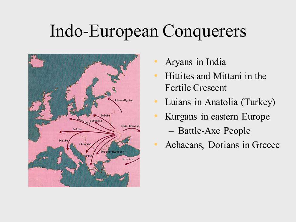 Diffusion of Indo-European Languages