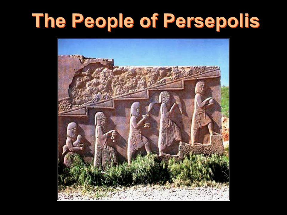 11 The People of Persepolis