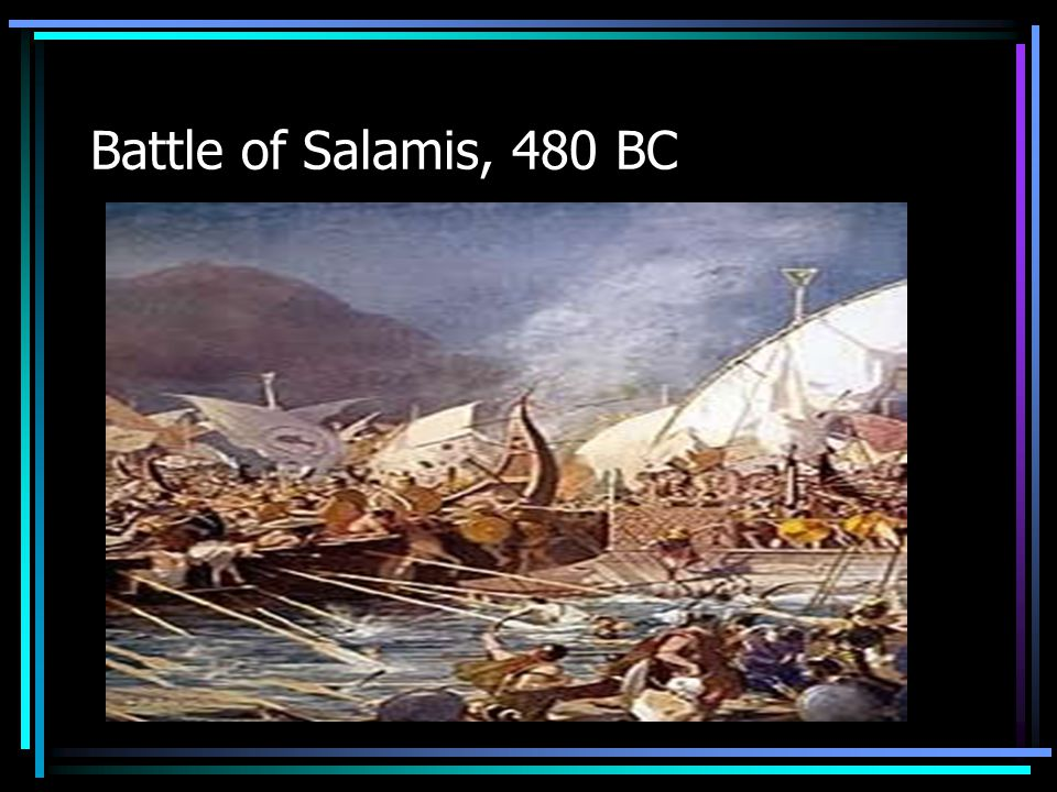 Leonidas & the Spartans hold the Persians at Thermopylae pass