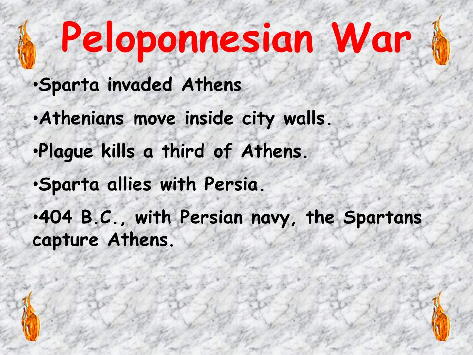 Greek against Greek Many Greeks resented the Athenian domination.