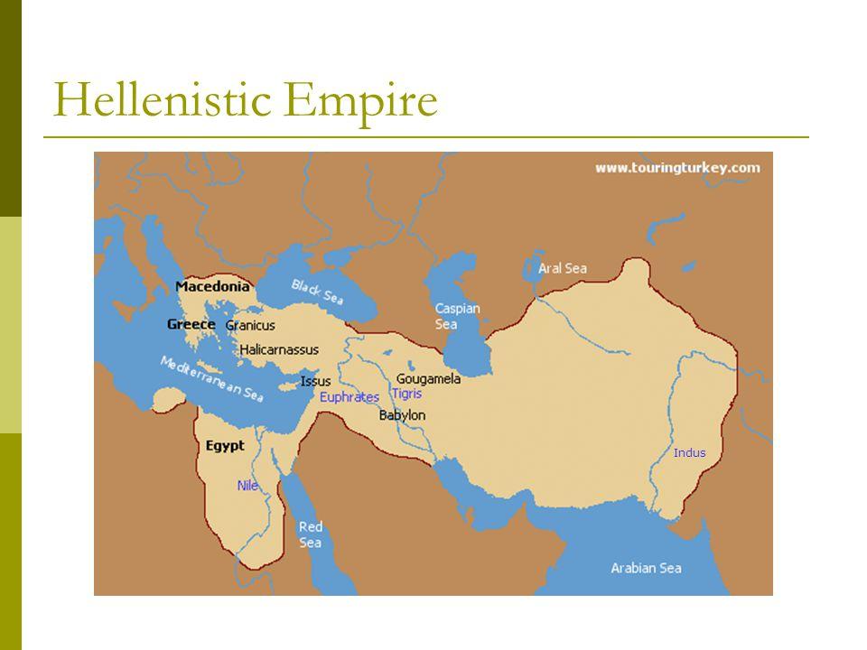 Hellenistic Empire Indus
