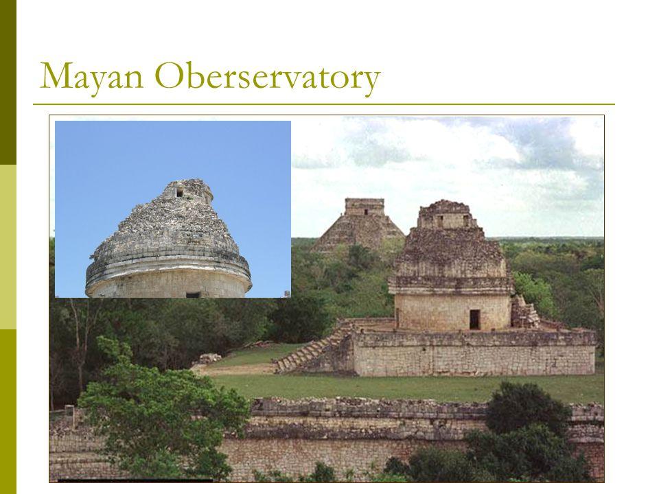 Mayan Oberservatory