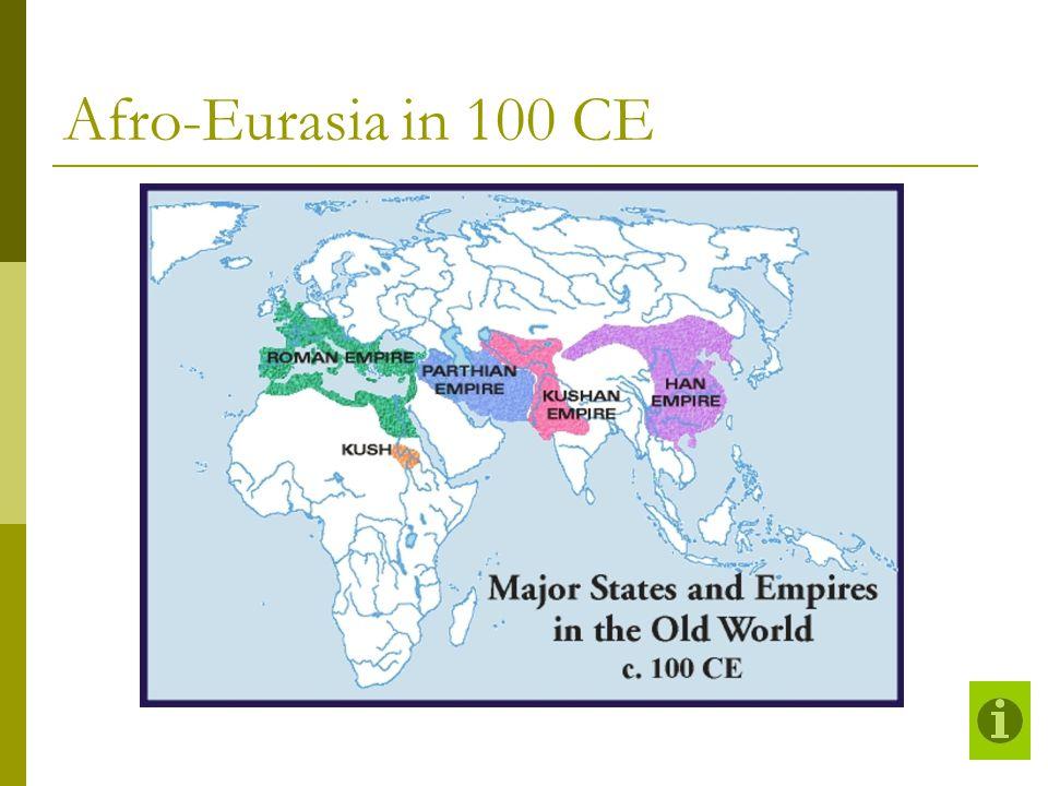 Afro-Eurasia in 100 CE