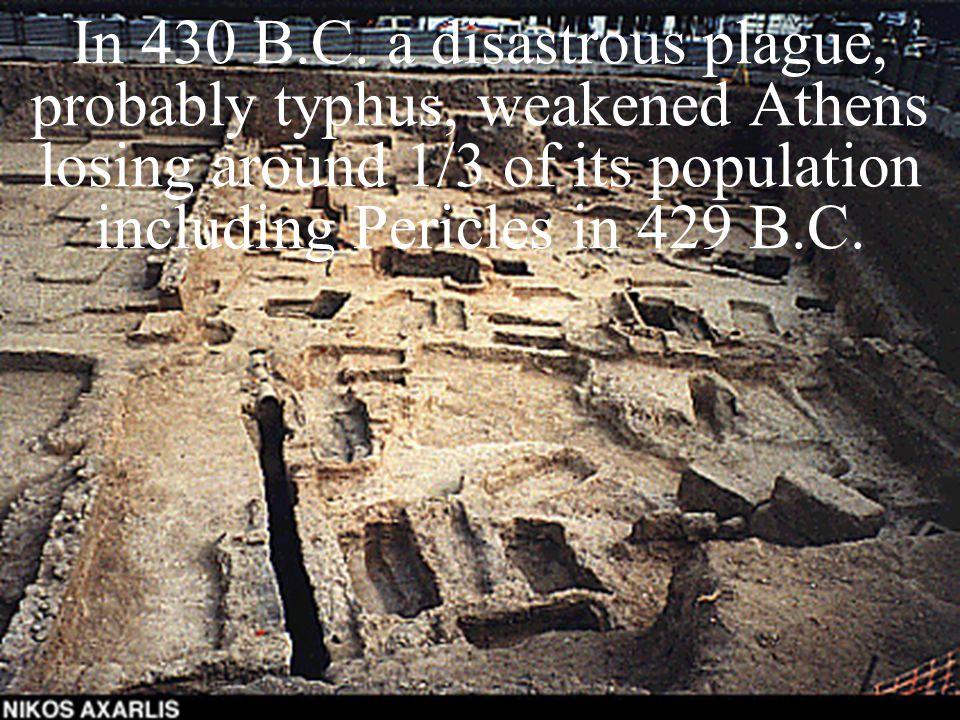 In 430 B.C.