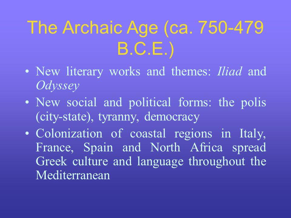 The Archaic Age (ca.