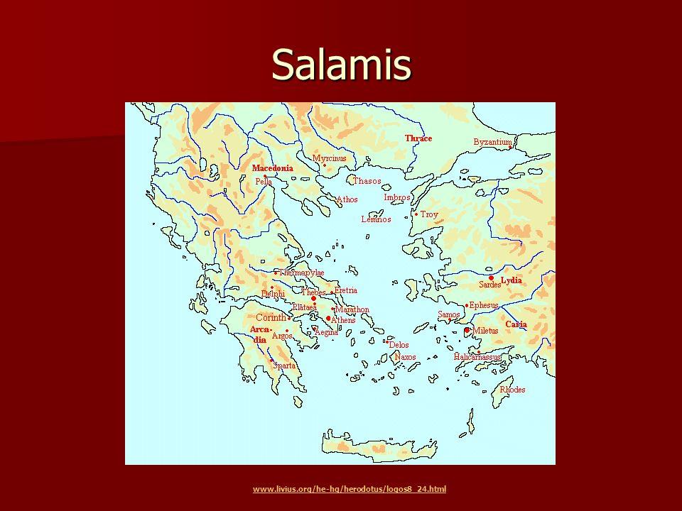 Salamis www.livius.org/he-hg/herodotus/logos8_24.html
