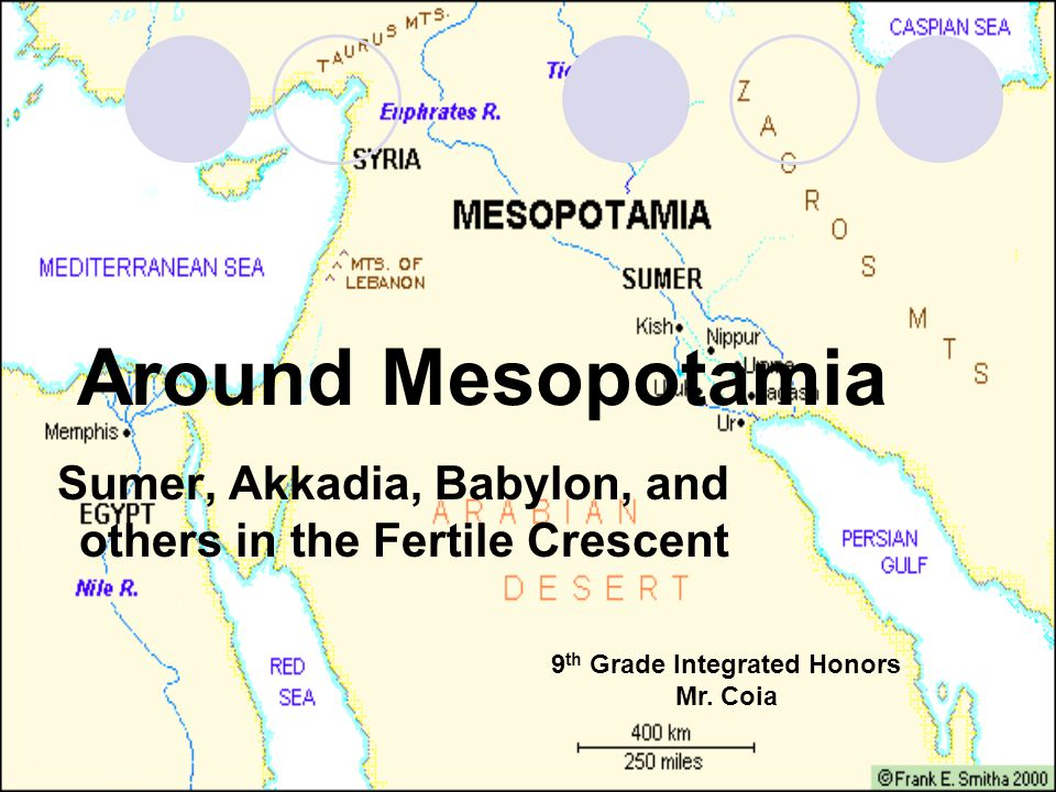 Key Terms Mesopotamia: An ancient region of southwest Asia between the Tigris and Euphrates rivers in modern- day Iraq.