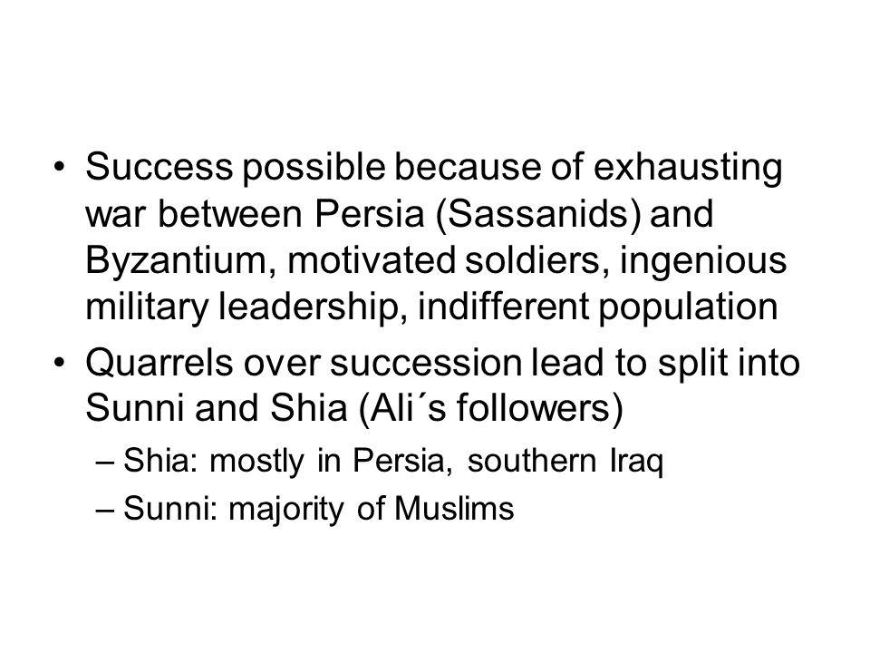Muslim Expansion 632-750