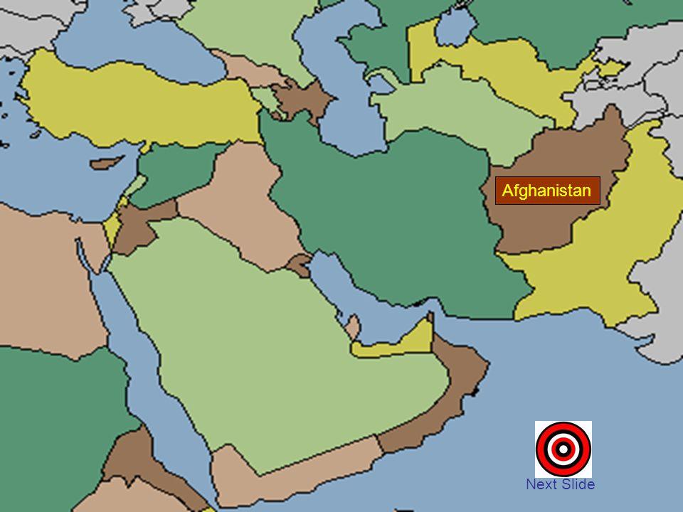 Afghanistan Next Slide