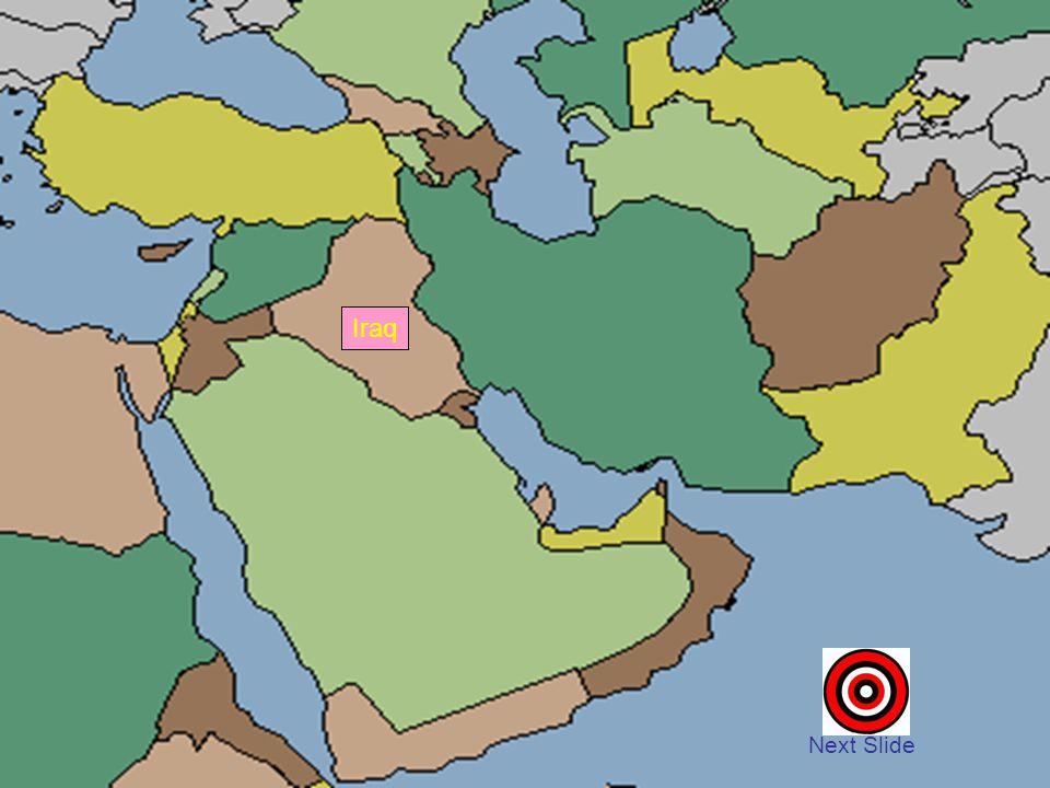 Iraq Next Slide