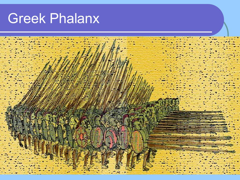 Phalanx holding the line at Thermopylae