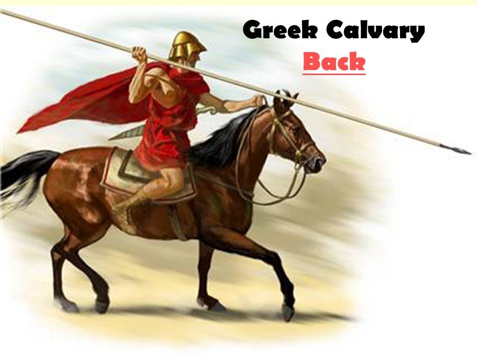 Greek Calvary Back Back