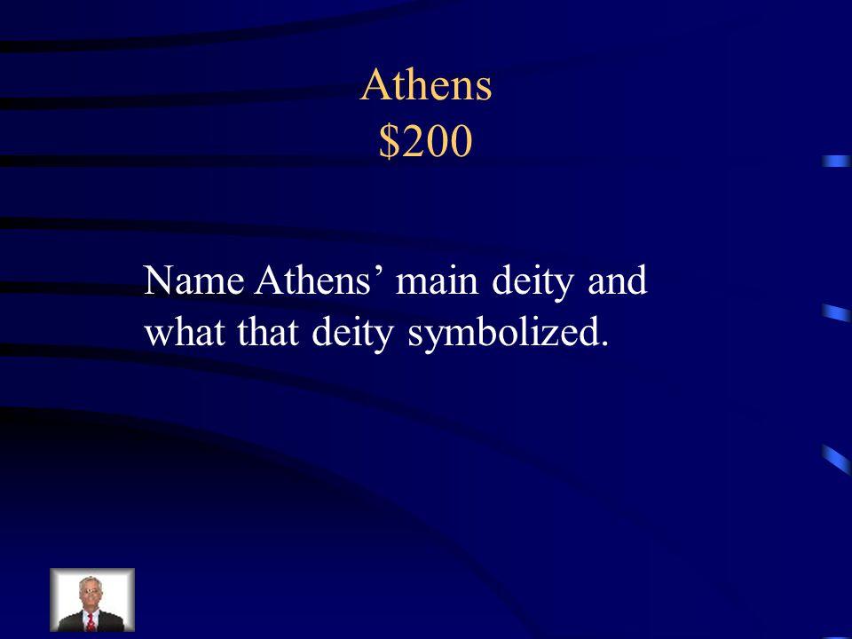 Athens $100 Attica