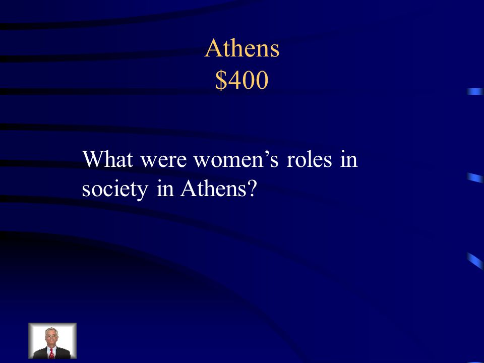 Athens $300 Let the debtors out of prison and enslavement males 21 years and older could discuss and vote in the Assembly Created a court system Had fathers teach sons a trade Results: increased products and more trade