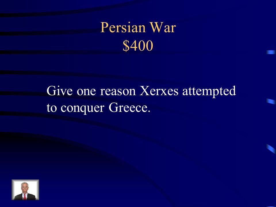 Persian War $300 Thermopylae