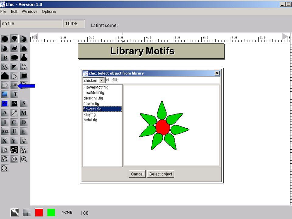 16 Library Motifs Library Motifs