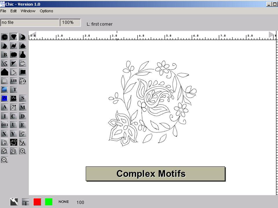 20 Complex Motifs Complex Motifs
