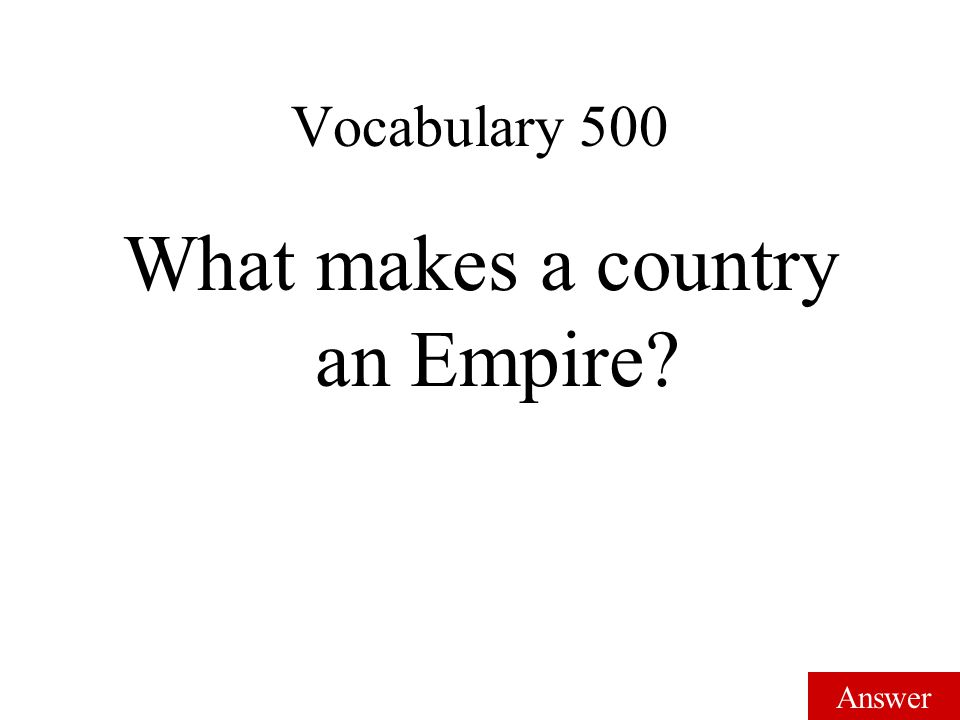 Answer Vocabulary 400 Janissaries