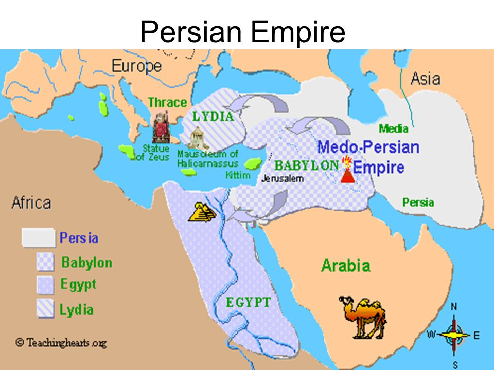 Jews Under Persian Rule Some freedom Those who remained in Babylon later produced the Babylonian Talmud Remained a vassal state of Persia –Had to pay taxes –Had its' own Governor –Own coinage Those in Jerusalem protected the approaches to Persia from the eastern Mediterranean Sea