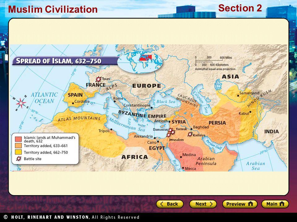 Muslim Civilization Section 2