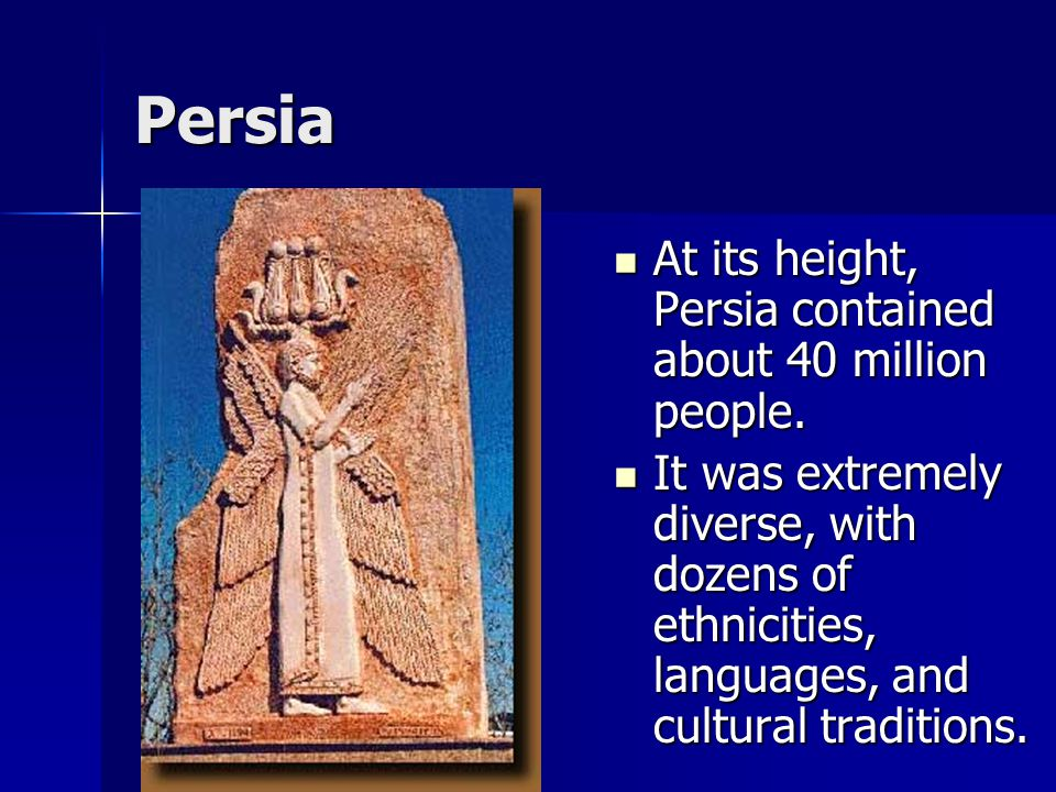 Persia Cyrus owed a lot of the success of his empire to the rich mineral resources of his kingdom, especially iron.