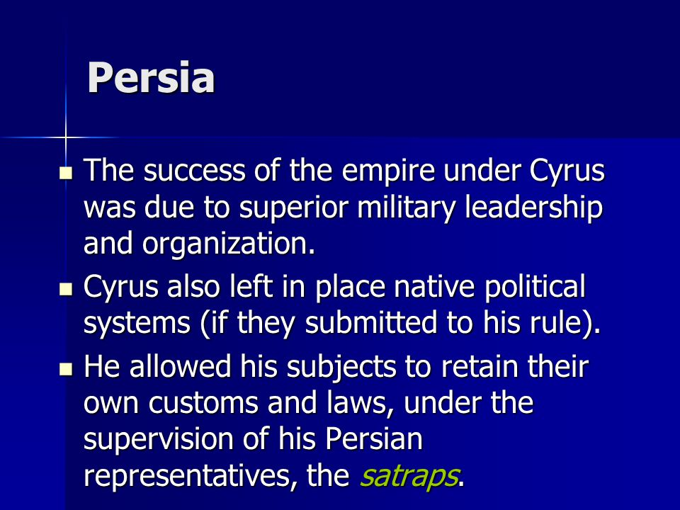 Persia Soon the Greeks were complaining about Persian oppression thwarting Greek liberty.