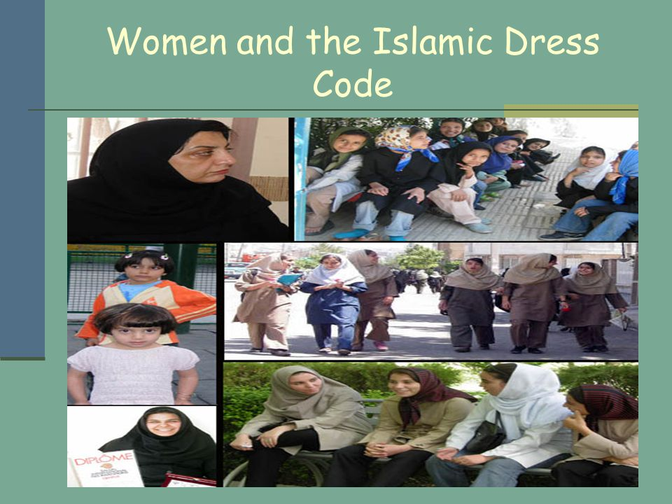 Women and the Islamic Dress Code