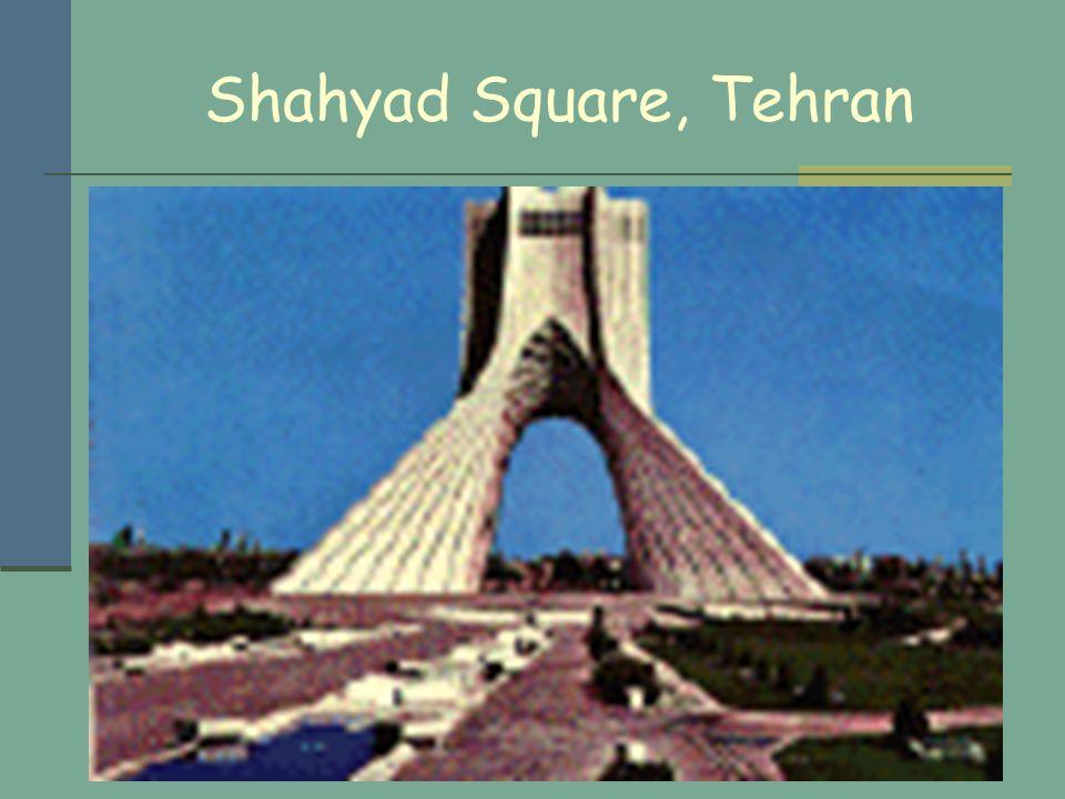 Shahyad Square, Tehran