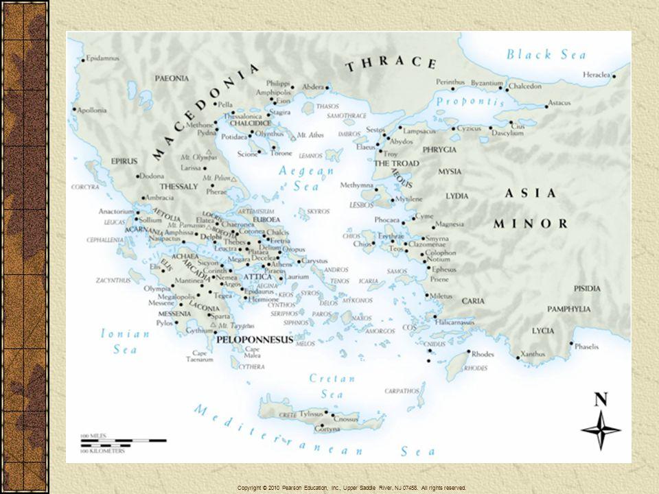 The First Peloponnesian War (ca.460–445 B.C.E.) Athens vs.