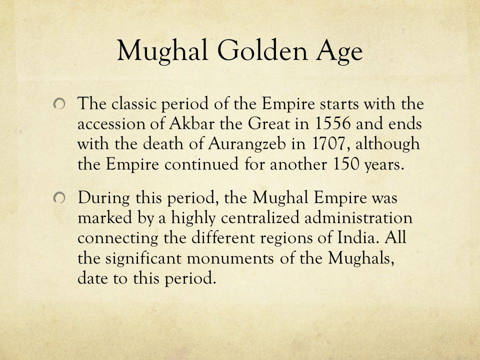 Mughal Empire Most notable of Babur's descendents were Akbar, his grandson and Shah Jahan, Akbar's grandson One of the most recognized buildings in th
