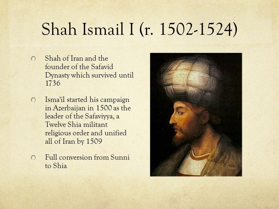 The Persian Empire The Saffavid Dynasty hailed from the region of Azerbaijan.