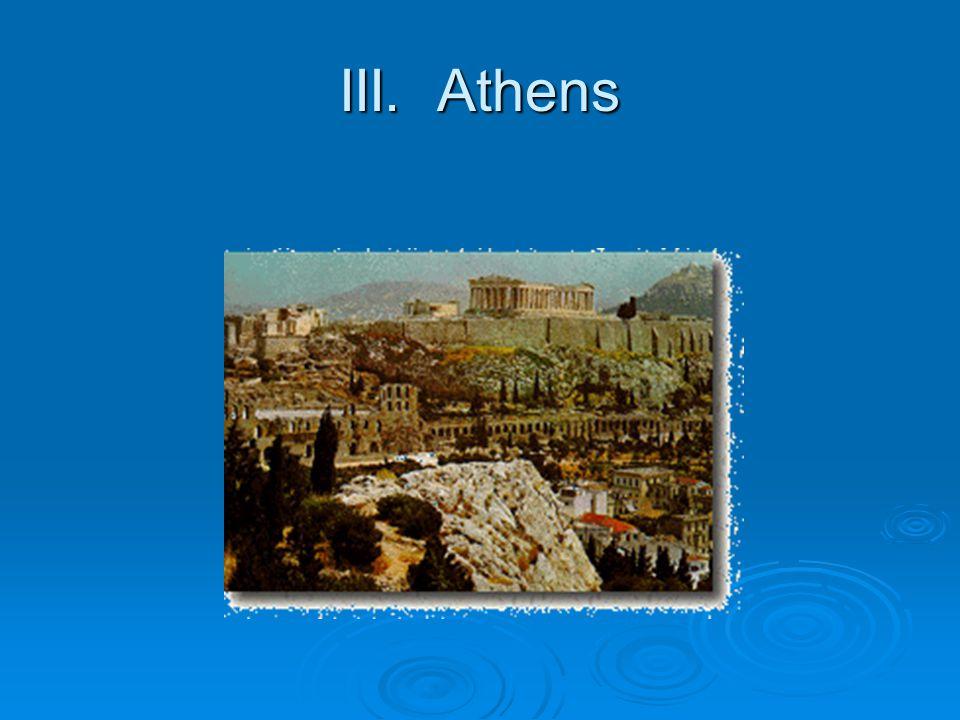 III. Athens