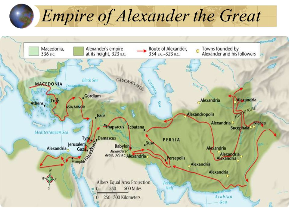Philip of Macedonia conquered Greece. He was assassinated before he could fulfill his dream of conquering the Persian empire. Philip's son, Alexander,