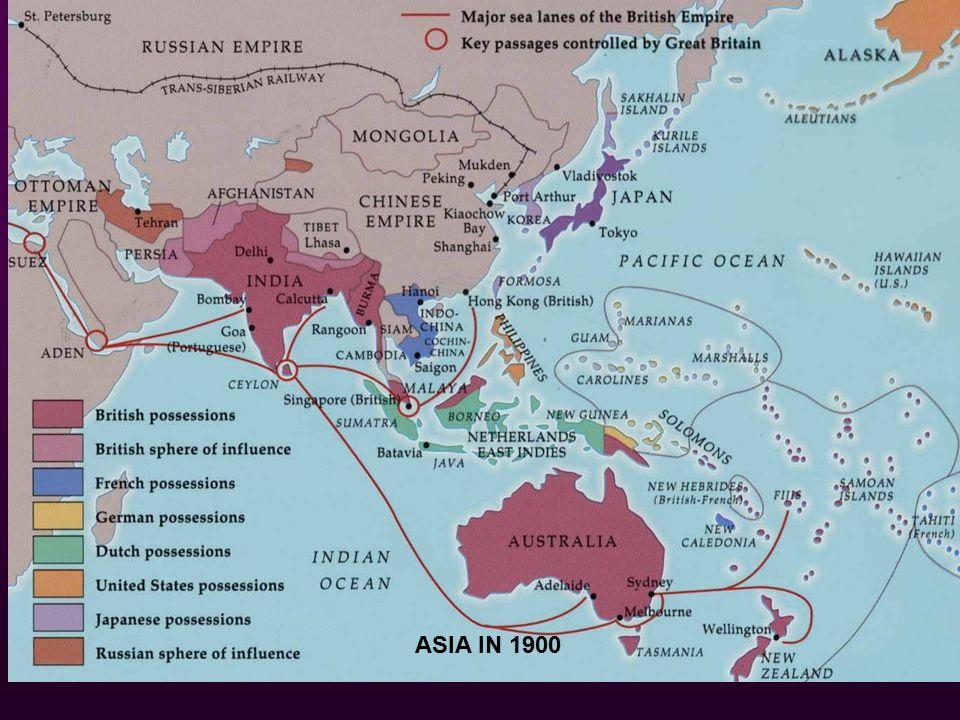 ASIA IN 1900