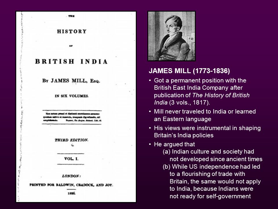 Thomas Babington Macaulay (1800–1859) Member of British Parliament In India 1834–38, as a member of the supreme council of the East India Company Reformed the Indian educational system and composed a legal code for the colony I have no knowledge of either Sanscrit or Arabic.