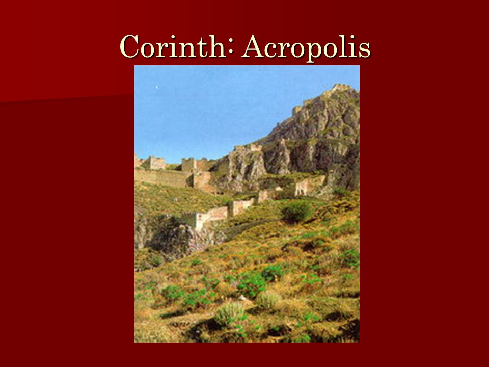 Corinth and Tyranny Role of Tyrants Role of Tyrants Tyranny of Cypselus in 657 BC Tyranny of Cypselus in 657 BC Maintenance of Tyranny Maintenance of Tyranny –Cypselus (d.