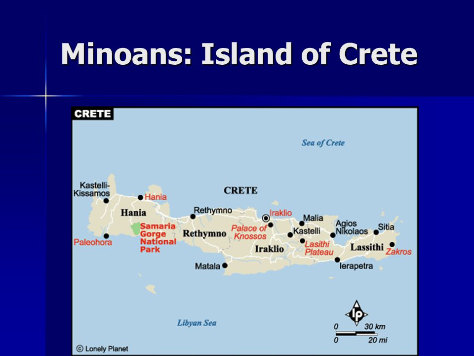 Minoans: Island of Crete